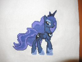 Princess of the Night [stitching] by Altajr