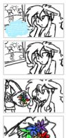 MLP: Mini comic - Flowers by KikiRDCZ