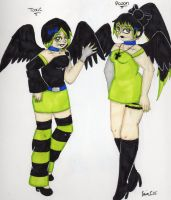 Toxic and Poison for MadisontheCat by Elainatehkitty