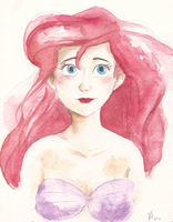Disney Princess Series- Ariel by maybelletea