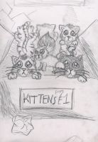 Kittens by Painted-ghost