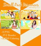 Small Pack Resources Collected by @ EJ by Eriol-Diggory-Art