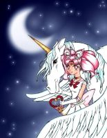 -Moonlit love story- by x3Chibix3