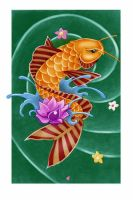My First Koi Fish - Color by artisticrender