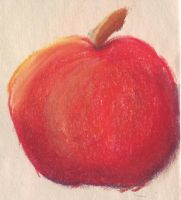Apple Sketch by chibiamy