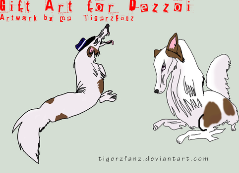 Vladimir, the Russian Wolfhound by TigerzFanz
