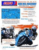 CMRA - Oak Hill Raceway Flyer by TreborDesigns