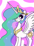Princess Celestia by TheUnicornLord