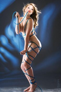 Courtenay with Blue Tubes by rue99