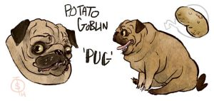 Potato Goblin by roboqueer
