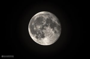 Moon Super Moon Perigee April 9th 2012 by dart47