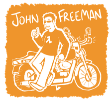 JOHN FREEMAN by Boltstriker