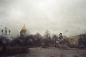 rain in St.Petesburg by favouriteflavor