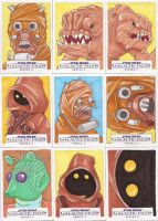 Star Wars Galactic Files Series 2 Sketch Cards 03 by Tyrant-1
