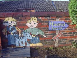 Bob the builder nursery mural by Will1885