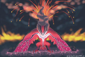 Veins of Magma by AlbaStrix