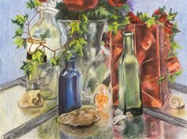 Pastel Still Life by stargate4ever23