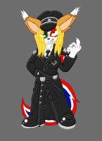 CLRD Nazi Twitchy by Blucaracal