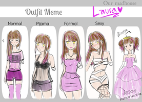 OMH- outfit Laura by ArisaDesu