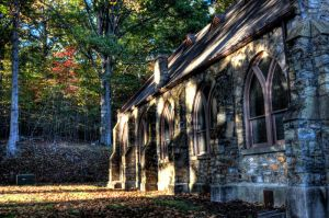 Wooded Chapel 2 by DreAminginDigITal