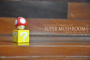 Super Mushroom by chocolatezi