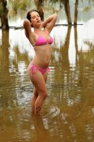 Cheetah - bikini and floodwater 3 by wildplaces