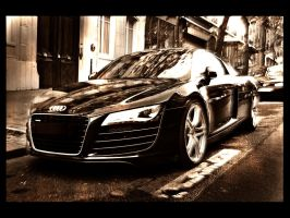 audi r8 by floppe