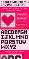 Crocheting Letters Tutorial by Sparrow-dream