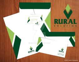 Rural Solution stationery by gu-i