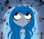 Carrie Beff as Corpse Bride by goingunder9