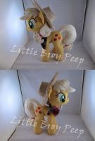 mlp Applejack plush by Little-Broy-Peep