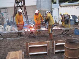 Iron Pour II by spockmou