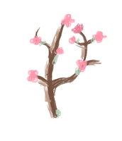 Cherry Blossom  MS Paint by petermarge