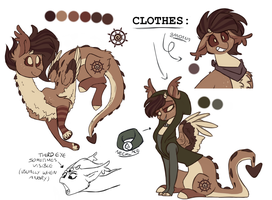 Hiccups (Updated Reference Sheet) by HiccupsDoesArt