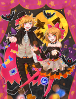 Magical Halloween Theater by akifei