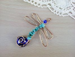 Dragonfly pendant by Mirtus63