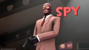 RED Spy (Wallpaper) by MikeSchmidtFTW