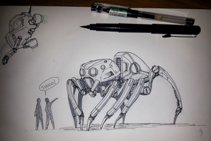 Spiderbot by rickystinger88