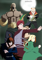 The Five Kages by KuramaNineTails