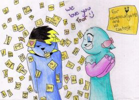 1000 love notes for thor by Wuhzzles