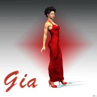 Gia Dressed Up by JV-Andrew