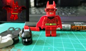 Custom LEGO Batman Heat Protection Suit Proof by Digger318