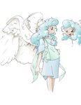 Character Sketch - Angel by feather-chan