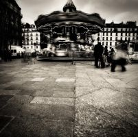 Moving around in Paris... by denis2