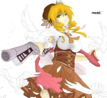 Mami Tomoe processing by HawkTema