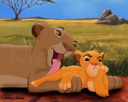 Sarabi and Simba by Nienna51