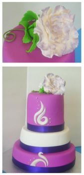 Sweet 16 cake by Cakerific