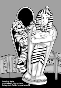 Mummy out the Tomb by henokvr22