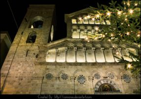 Cattedrale a Natale by cannonau