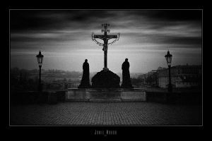 Prague - Charles Bridge 4 by jamiemahon